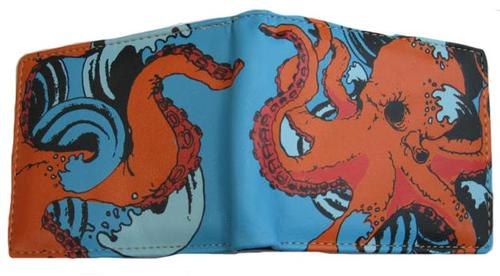 Octopus Billfold Wallet