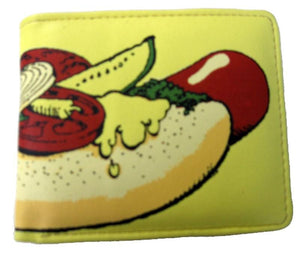 Hot Dog Billfold Wallet