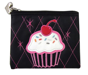 Cherry on Top Flat Coin Purse