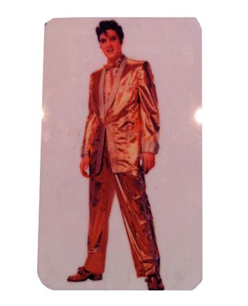 Elvis Presley Gold Suit Magnet