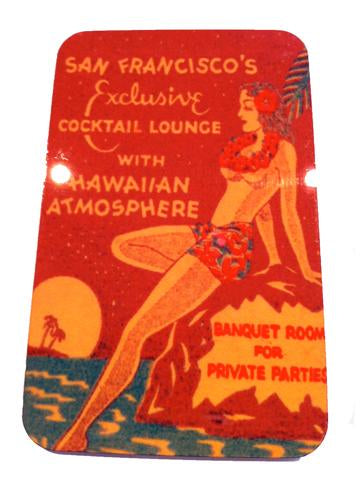 San Francisco Cocktail Lounge Magnet