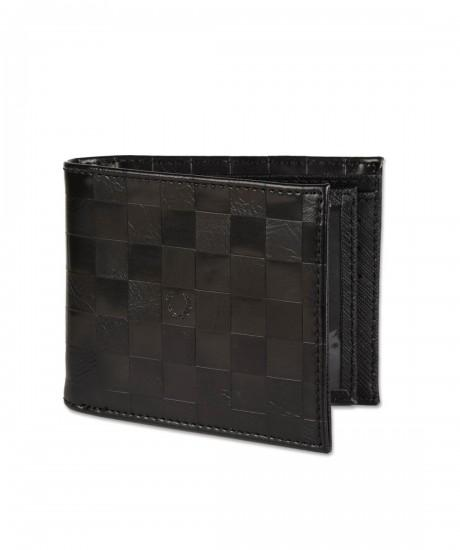 Checkerboard Embossed Multiflip Wallet