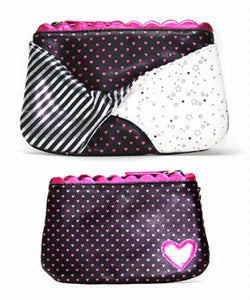 Hearts and Stars Twist Coin Purse