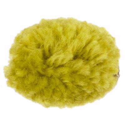 Yarn Pom-Pom Hairclip - Green