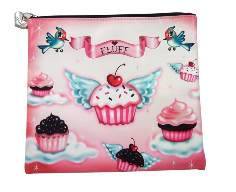 Cupcake Heaven Flat Coin Purse