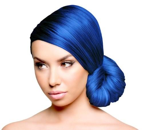 Electric Blue Hair Color