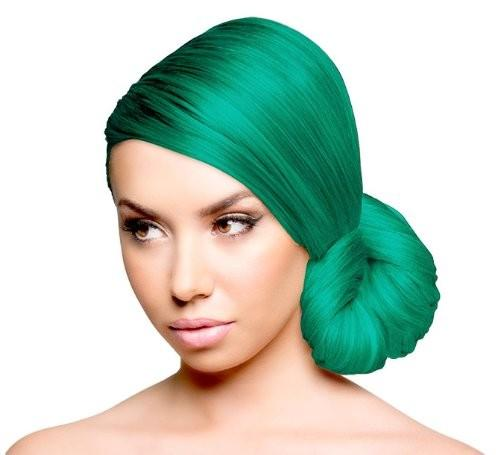 Green Ivy Hair Color