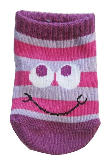 Happy Monster Baby Socks