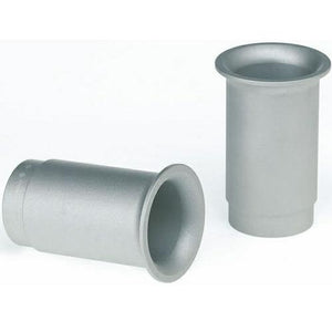 Silver 4 Aces Trumpet Exhaust Tips