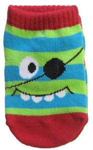 Pirate Monster Baby Socks