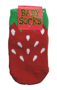 Strawberry Baby Socks