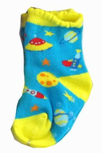 Space Baby Crew Socks