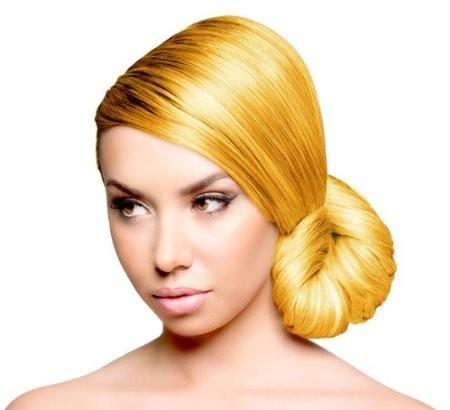 Sunburst Yellow Hair Color