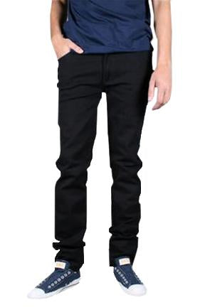 Basic Black 5 Pocket Stretch Denim Jean
