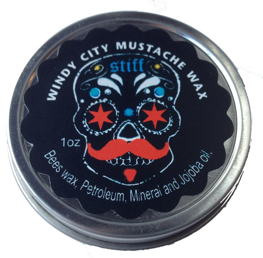 Windy City Mustache Wax