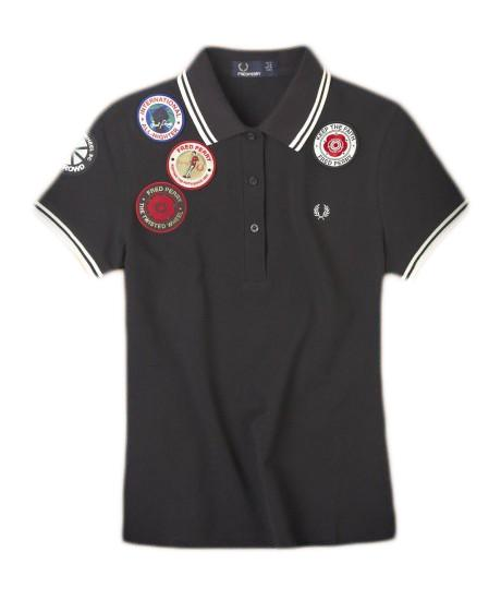 Women's Fred Perry Polo With Patches