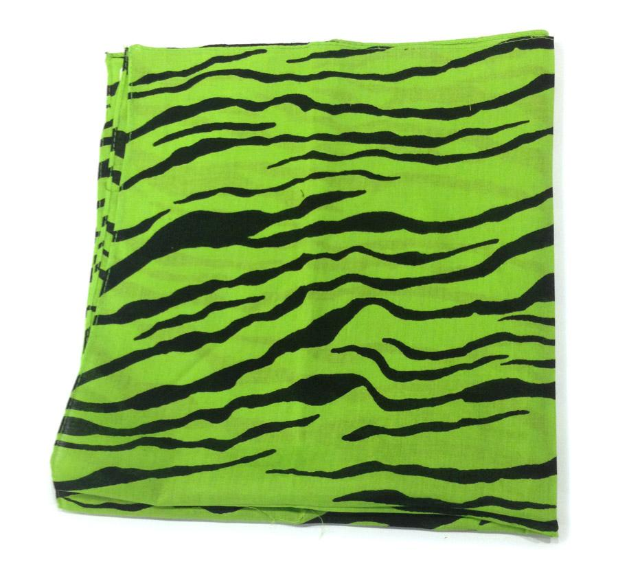 Green Tiger Bandana