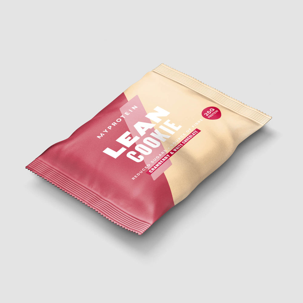 Lean cookie - cranberry & white chocolate (50g)