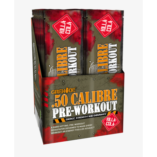 50 Calibre Pre-Workout (Single Sachet) Killa Kola