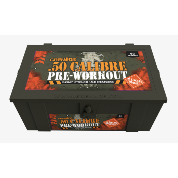 50 Calibre Pre-Workout 50's (580g, Ultimate Orange)