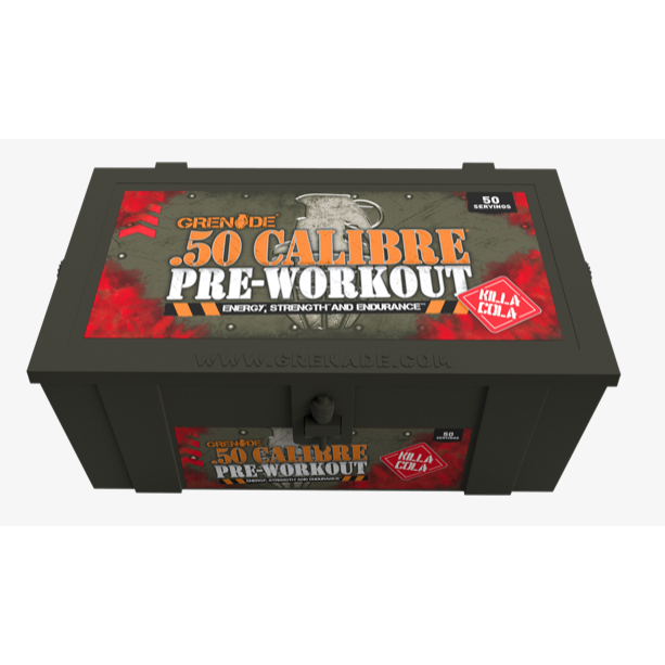 50 Calibre Pre-Workout 50's (580g, Killa Kola)