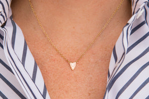 Love on Top Heart Necklace