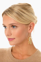 Load image into Gallery viewer, Goldbug Drop Earrings