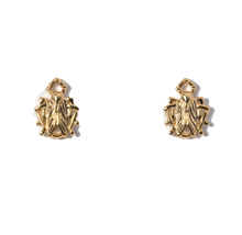 Load image into Gallery viewer, Tiny Goldbug Stud Earring