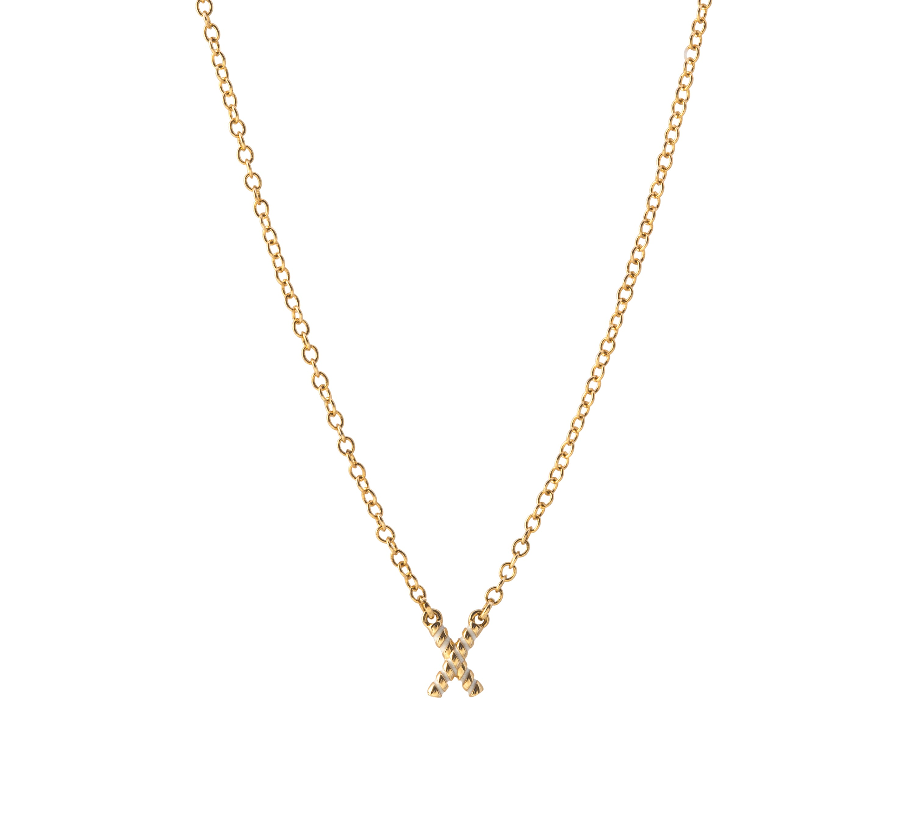 Love on Top X Necklace