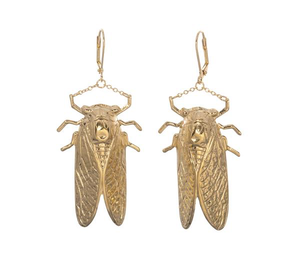 Goldbug Drop Earrings