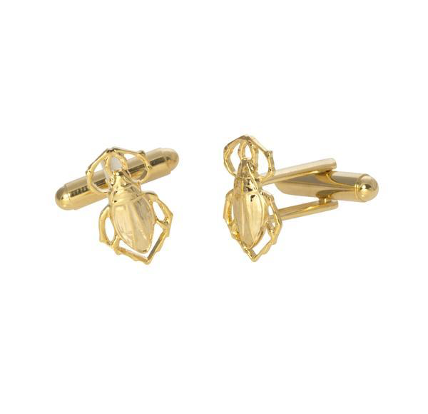 Goldbug Cufflinks