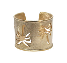 Load image into Gallery viewer, Palmetto Wide Cuff Bracelet