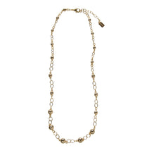 "Load image into Gallery viewer, Palmetto Textured 32"" Necklace"