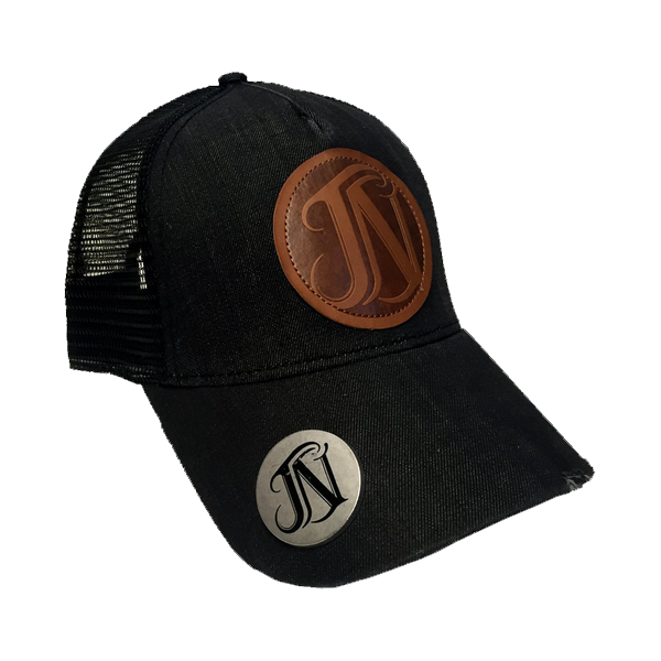 JN Black Denim Bottle Opener Hat