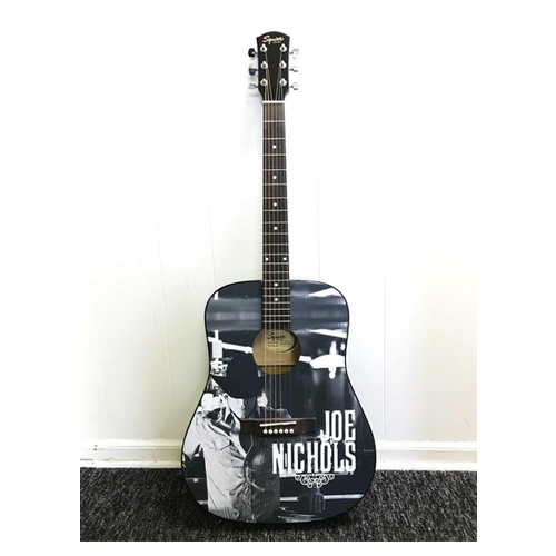 JN Acoustic Signed Guitar