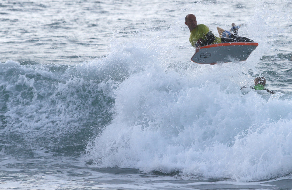Bodyboarding competition Cornwall
