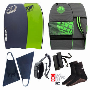 Alder Assassin 8 Bodyboard Package