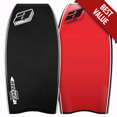 Alder Rocket Bodyboard Black Red