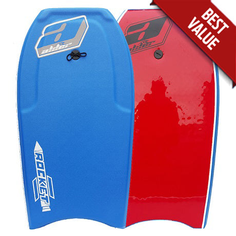 Alder Rocket bodyboard Sky Blue / Orange