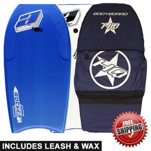Alder Rocket bodyboarding package