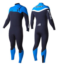 Load image into Gallery viewer, Attica Alpha 3/2 Blue/Black Wetsuit