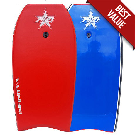 HQ Infinity-X Bodyboard Red