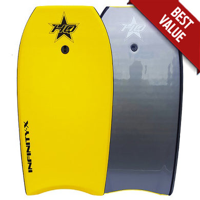 HQ Infinity-X Bodyboard Yellow