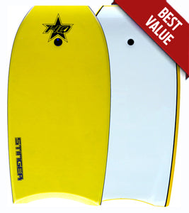 HQ Stinger bodyboard Yellow