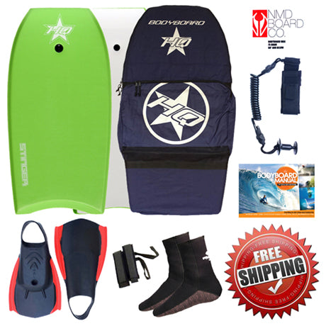 HQ Stinger full bodyboarding package