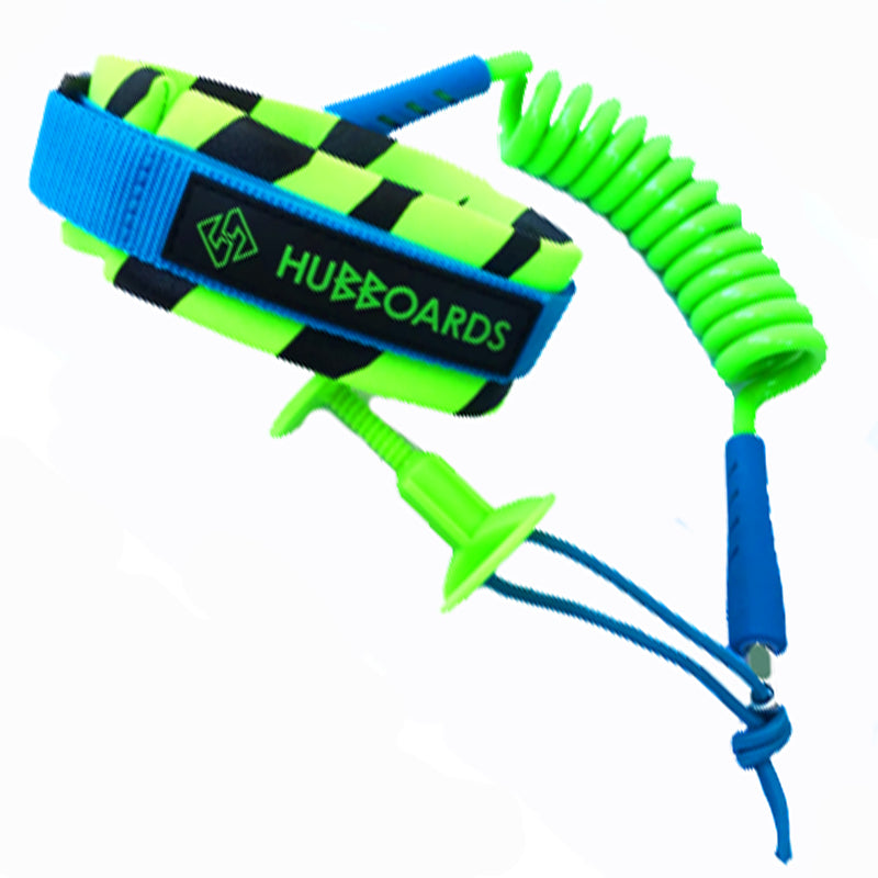 Hubboards green bicep leash