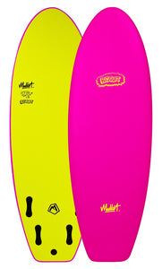 "Mullet Biscuit 5' 4"" Soft Surfboard"