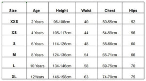 saltskin wetsuits size guide