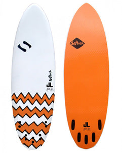"Softech JL SSS 5'8"" soft surfboard"