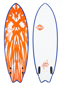 "Softech Mason Ho Twin 5' 10"" Soft Surfboard Neon"